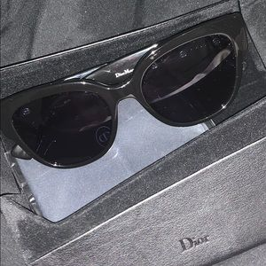 Christian Dior Crystalized Sunglasses